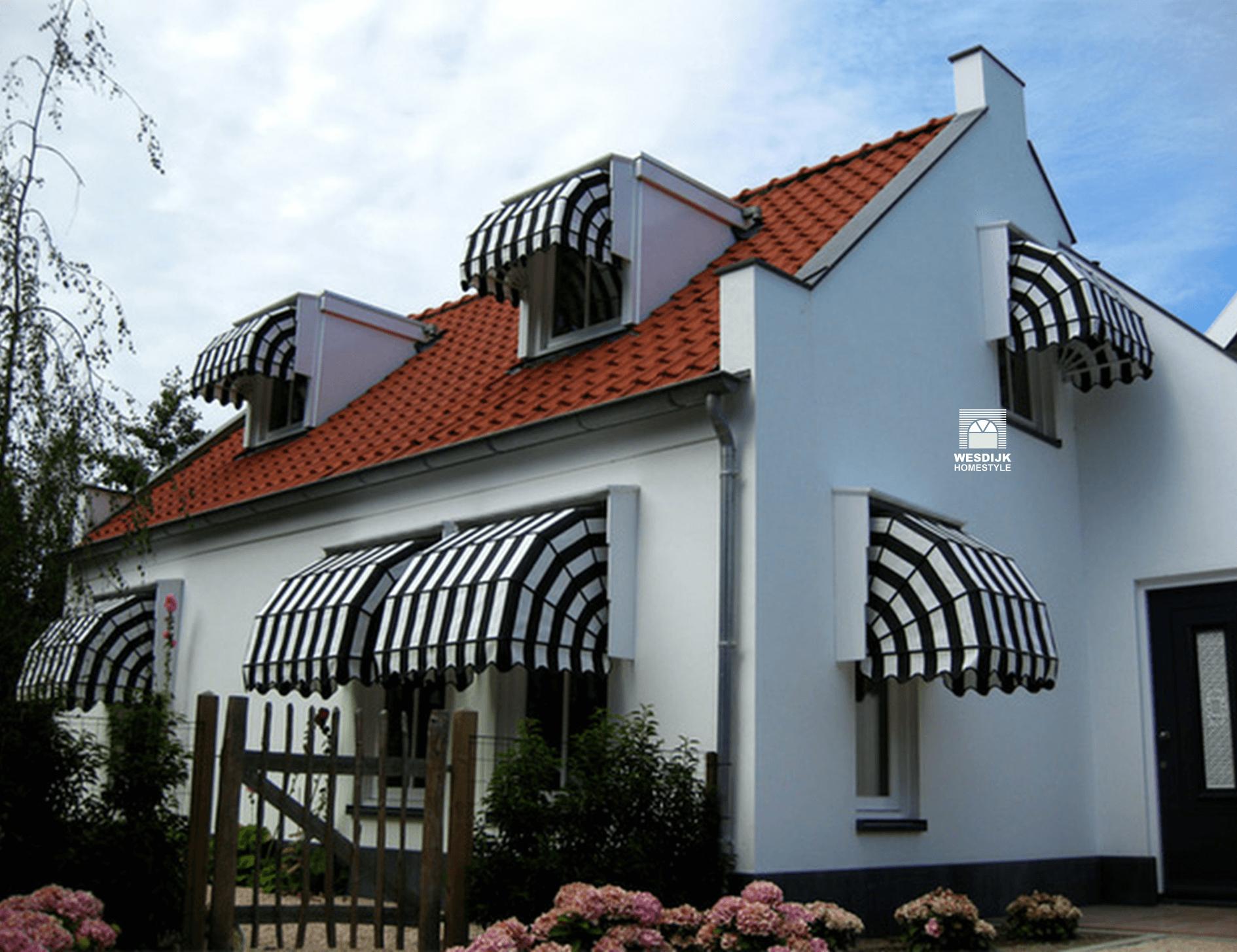 Markiezen zorgen voor een klassieke uitstraling van uw woning markiezen ZONWERING