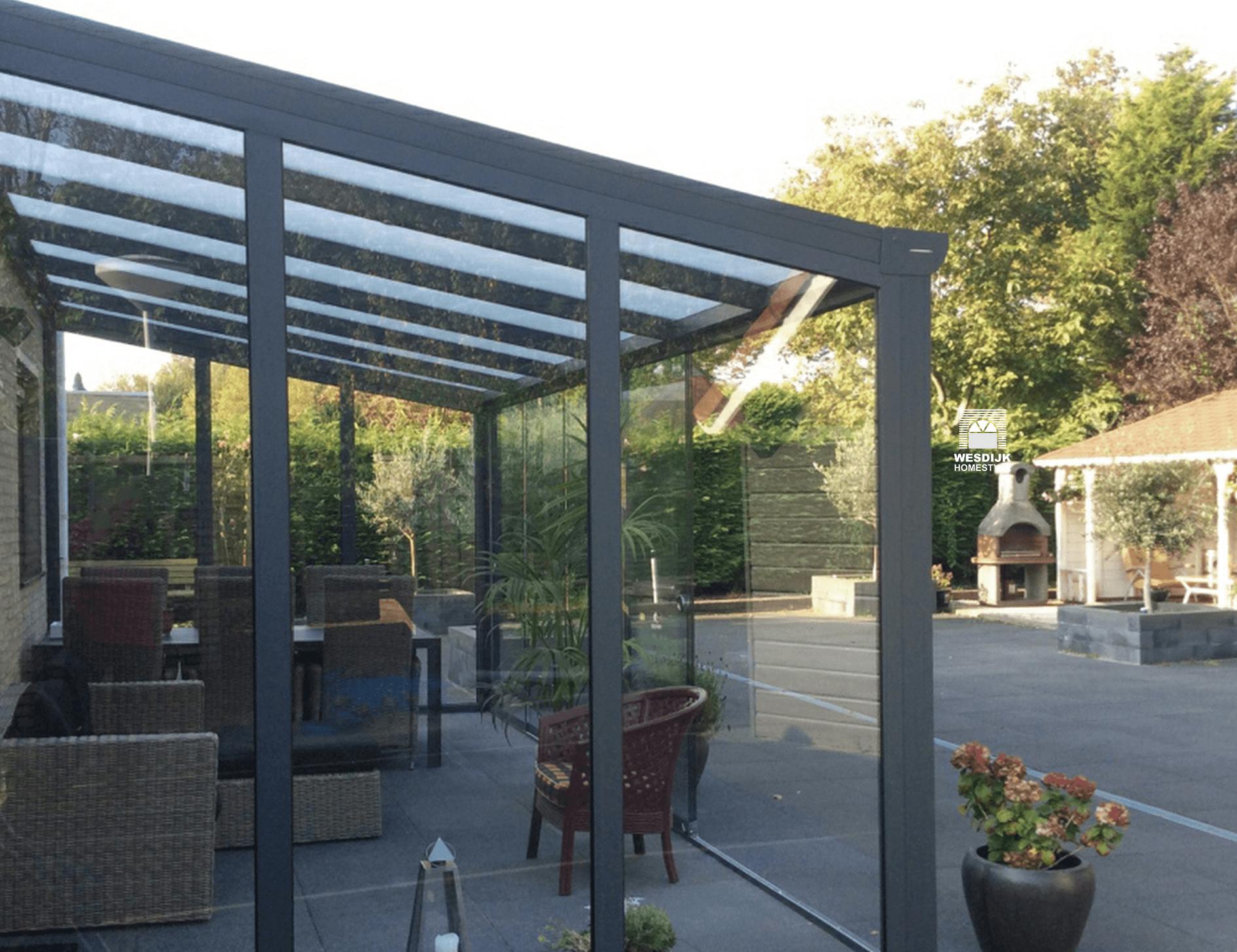 Spiksplinternieuw Veranda Zeeland specialist in veranda's, terrasoverkappingen en DO-25