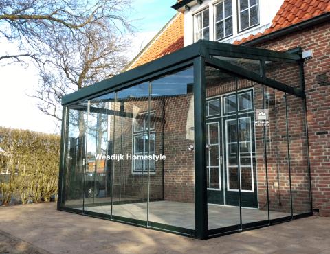 Extreem Veranda Zeeland specialist in veranda's, terrasoverkappingen en &SJ93